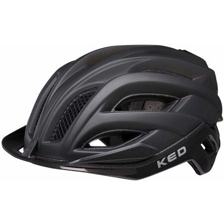 KED Champion Visor Rennrad-Helm process black matt