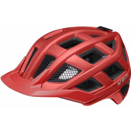 KED Crom MTB-Helm merlot matt