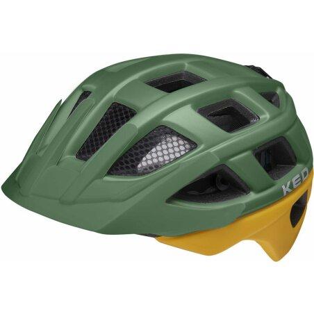 KED Kailu Kinder-Helm green yellow matt