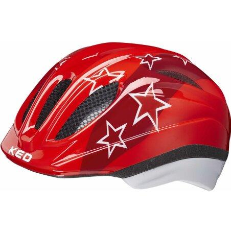 KED Meggy II Kinder-Helm red stars