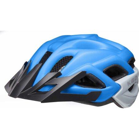 KED Status Junior Kinder-Helm blue black matt