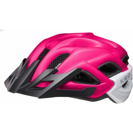 KED Status Junior Kinder-Helm pink black matt