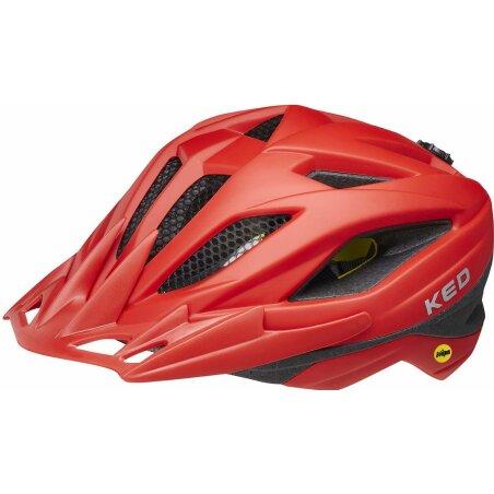 KED Street Junior Mips Helm fiery red matt