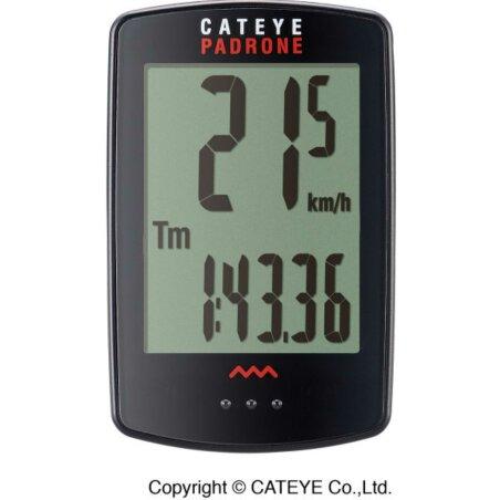 Cat Eye Padrone CC-PA 100W Fahrradcomputer schwarz