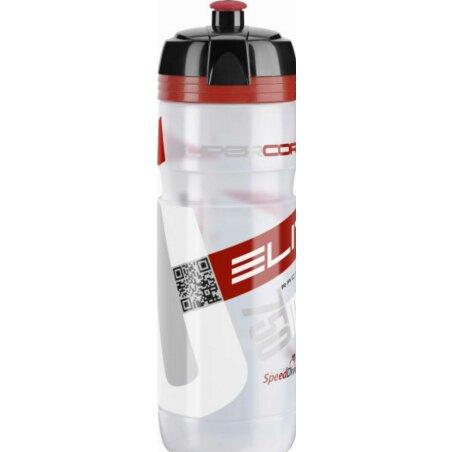 Elite Corsa New Design Trinkflasche transparent/rot 750 ml