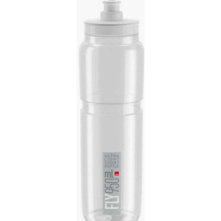 Elite Fly Trinkflasche transparent/grau