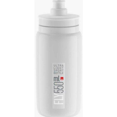 Elite Fly Ultra Light Sport Trinkflasche weiß/grau...