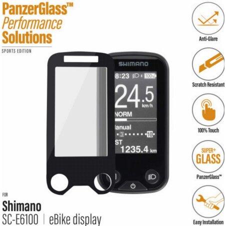 PanzerGlass E-Bike Displayschutz Shimano Steps E6100