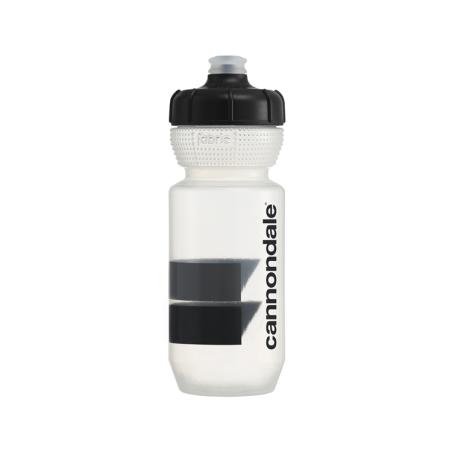 Cannondale Block Gripper Trinkflasche clear/black