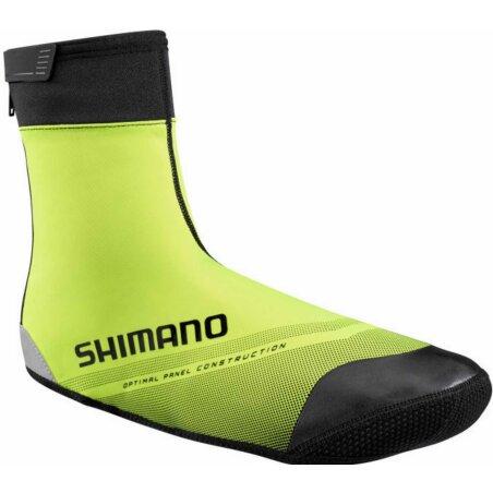 Shimano S1100X Soft Shell F20 Überschuhe neon yellow