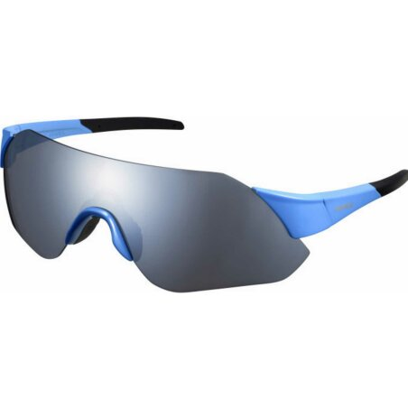 Shimano Aerolite Brille blue/smoke silver mirror