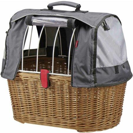 KLICKfix Doggy Basket Plus Gepäckträgerkorb...