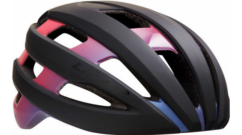 Lazer Sphere Rennrad-Helm matte stripes