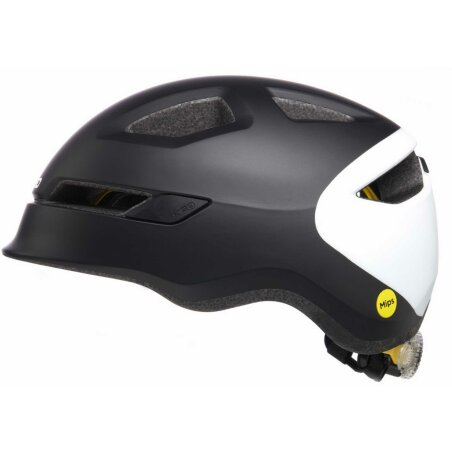 KED POP Kinder-Helm black white