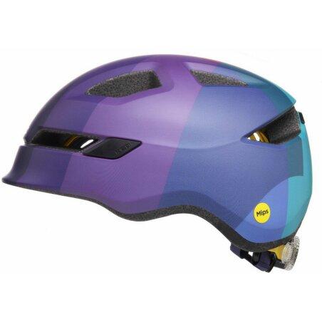 KED POP Kinder-Helm lilac green