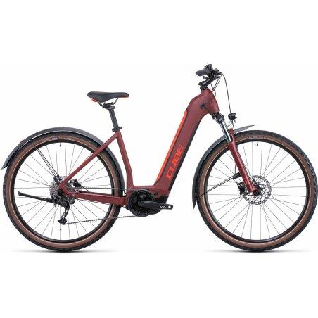 Cube Nuride Hybrid Performance Allroad 500 Wh E-Bike Easy...