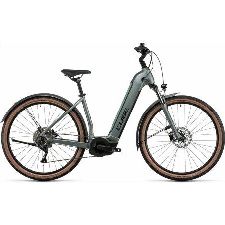 Cube Nuride Hybrid Pro Allroad 625 Wh E-Bike Easy Entry...