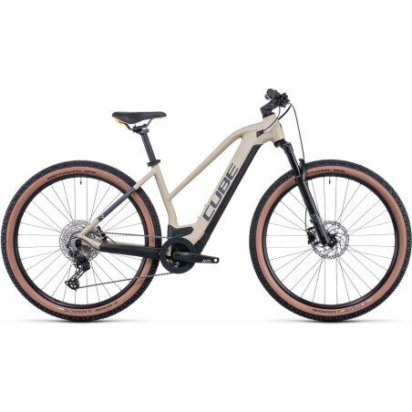 Cube Reaction Hybrid Pro 500 Wh E-Bike Hardtail Trapeze...