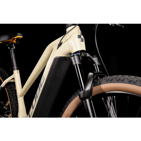 Cube Reaction Hybrid Pro 625 Wh E-Bike Hardtail Diamant desert´n´orange