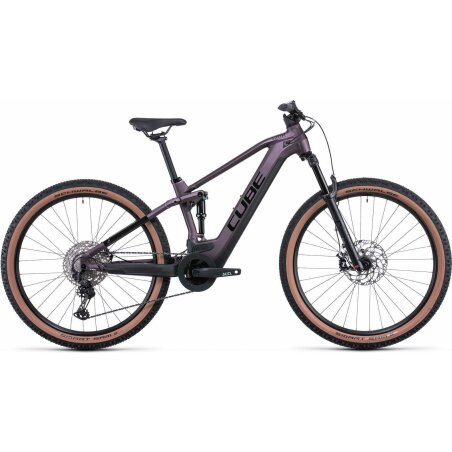 Cube Stereo Hybrid 120 Race 625 Wh E-Bike Fully smokylilac´n´black