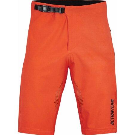 Cube Edge Lightweight Baggy Shorts orange