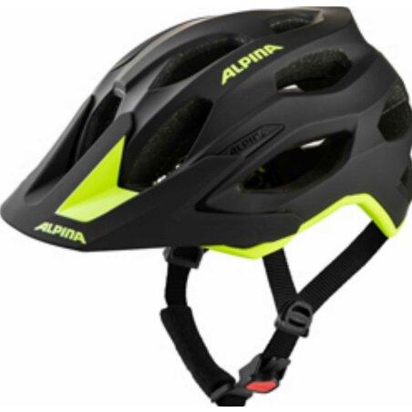 Alpina CARAPAX 2.0 black-neon yellow mattt