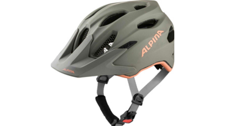Alpina Carapax Junior Flash Kinder-Helm moon-grey-peach matt 51-56 cm