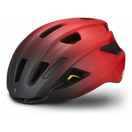 Specialized Align II Mips Helm gloss flo red/matte black