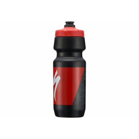 Specialized BM 2ND Gen EA Trinkflasche black/red topo...