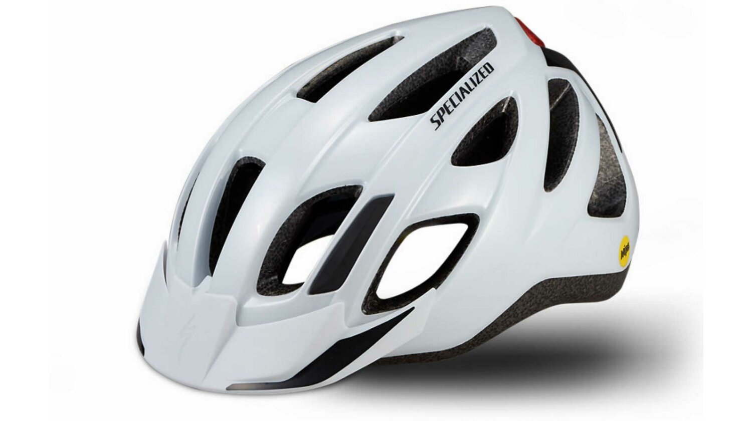 Specialized Centro LED Mips Helm gloss white 55-60 cm