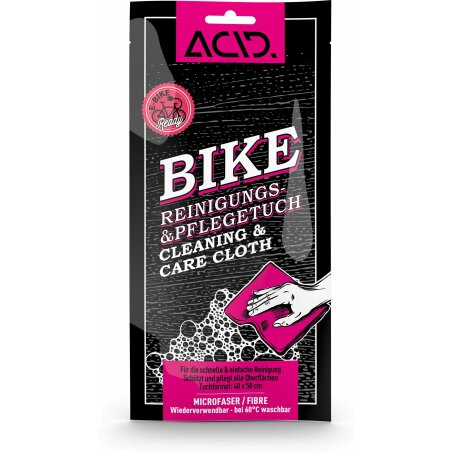 Acid Bike Reinigungs- & Pflegetuch 40 x 50 cm