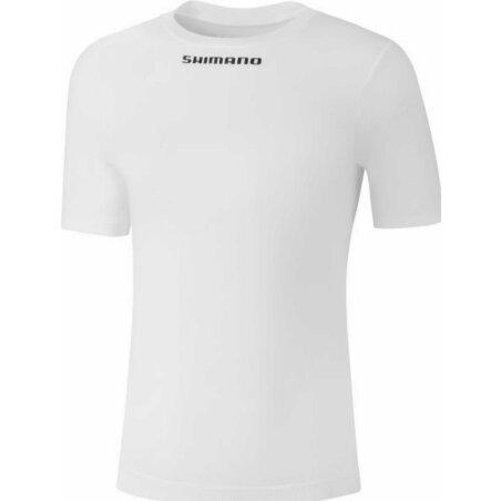 Shimano S.S. Base Layer Unterhemd white