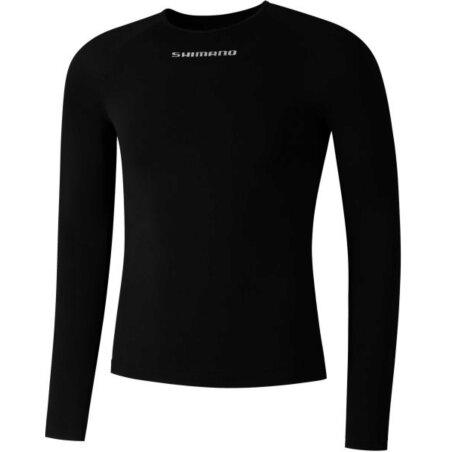 Shimano Base Layer Unterhemd Langarm black