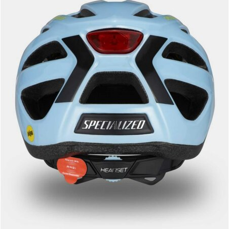 Specialized Centro LED Mips Helm gloss arctic blue 55-60 cm