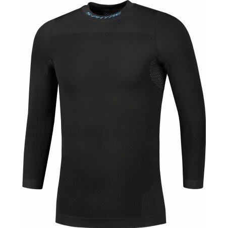 Shimano S-Phyre Base Layer Unterhemd Langarm black