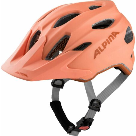 Alpina Carapax Junior Kinder-Helm peach matt 51-56 cm