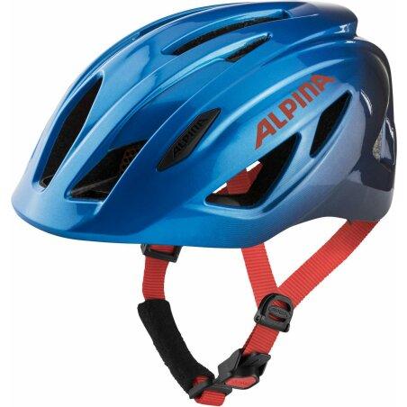 Alpina Pico Kinder-Helm true blue gloss 50-55 cm