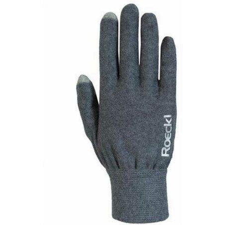 Roeckl Kapela Handschuhe lang anthracite melange