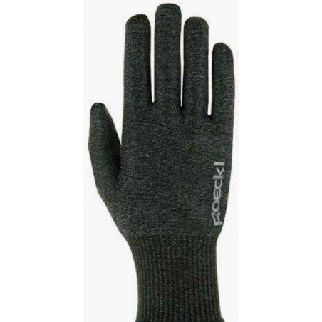 Roeckl Kopenhagen Handschuhe lang anthracite melange
