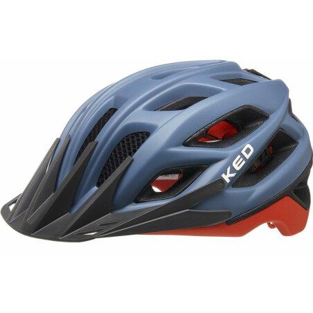 KED Companion MTB-Helm blue grey orange matt