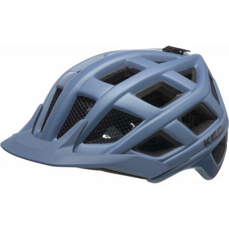KED Crom MTB-Helm blue grey matt