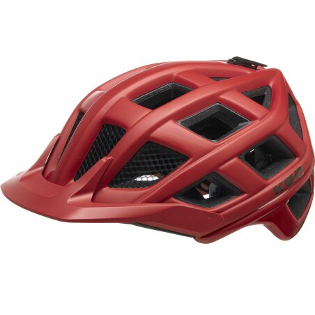KED Crom MTB-Helm crimson red matt