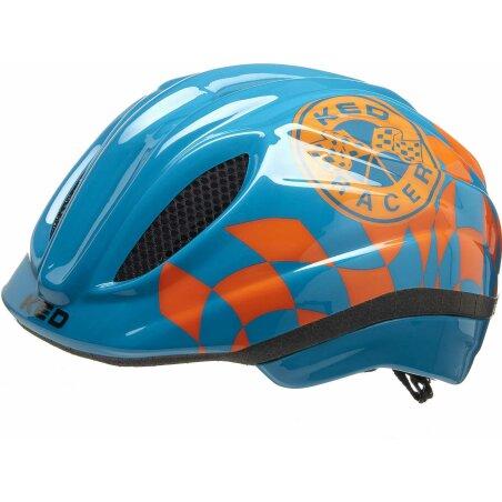 KED Meggy II Trend Kinder-Helm racer petrol orange