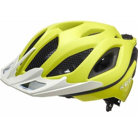 KED Spiri Two MTB-Helm yellow green matt