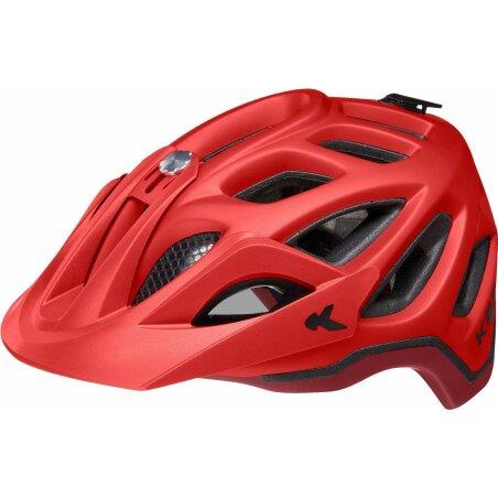 KED Trailon MTB-Helm crimson red merlot matt