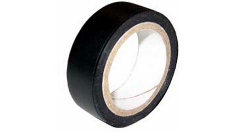Isolierband schwarz 15 mm x 4,5 m