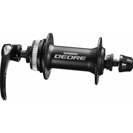 "Laufrad VR Rigida ZAC 2000 Disc schwarz + Shimano Deore M615 Center Lock QR schwarz 28"""