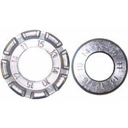 Matrix Teller-Speichenspanner 8 Kerbungen