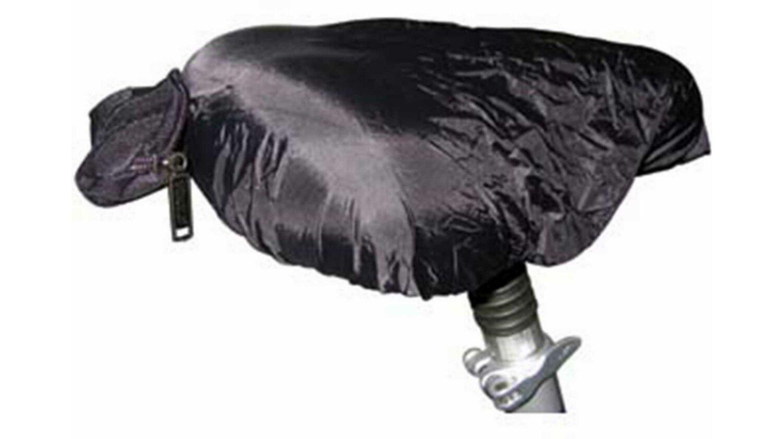 MATRIX Sattelschutz Regen schwarz