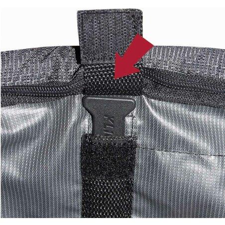 Klickfix Doggy Lenkertasche grau/schwarz